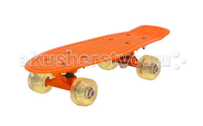 Moove&Fun Скейт пластиковый 17х5