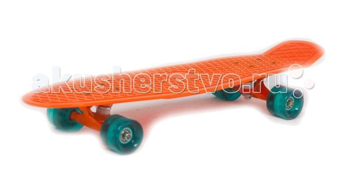 Moove&amp;Fun Скейт пластиковый 27х8Скейт пластиковый 27х8Moove&Fun Скейт пластиковый 27х8 поможет Вашему ребенку весело провести отдых.  Максимальный вес пользователя - 50 кг Состав - высокопрочный пластик, алюминий, полиуретан Стойкость к ультрафиолету - устойчив к ультрафиолету Тип подшипника - ABEC-5 Количество колес - 4 Диаметр задних колес - 59x45 мм Диаметр передних колес - 59x45 мм Вес - 1.8 кг Размер - 68.3х19.7х9 см.<br>
