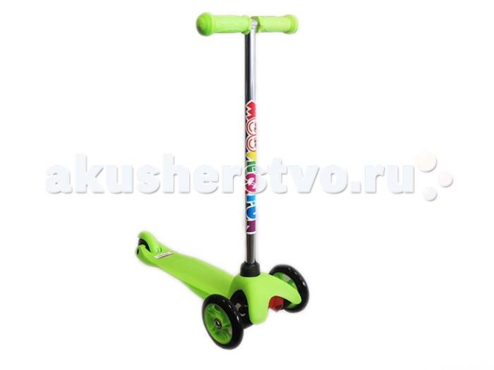 Самокат Moove&Fun трехколесный Mini PU