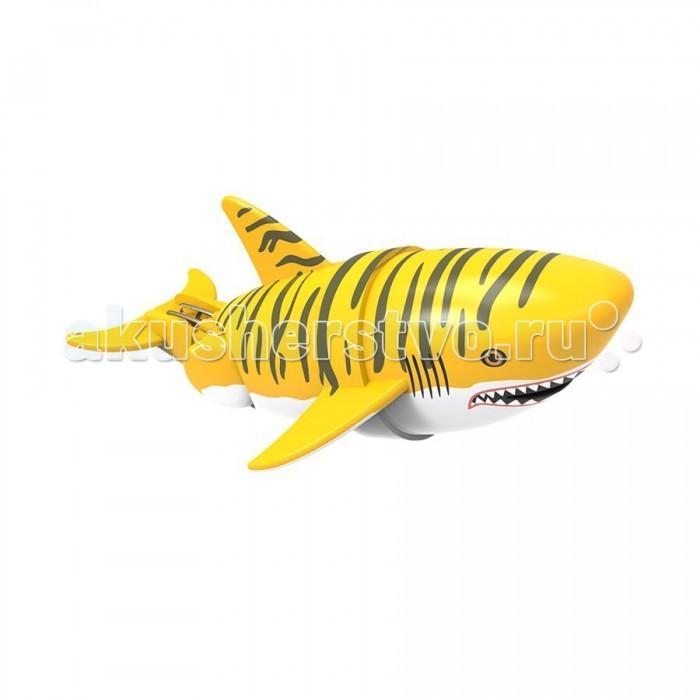 Интерактивная игрушка Море чудес Акула-акробат 12 смАкула-акробат 12 смАкула-акробат Море Чудес плавает и ныряет.   Траектория движения игрушки зависит от наклона хвоста.   Игрушка работает от двух батареек типа ААА (LR03).<br>