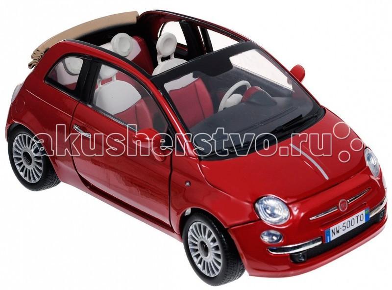 MotorMax ������� ������������� Fiat Nuova 500 Cabrio 1:18