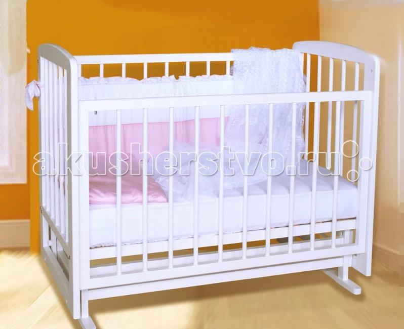 Детская кроватка Можгинский лесокомбинат Дарина (поперечный маятник)