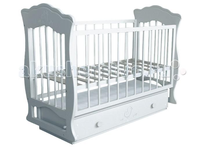 Детская кроватка Можгинский лесокомбинат Елена (поперечный маятник)