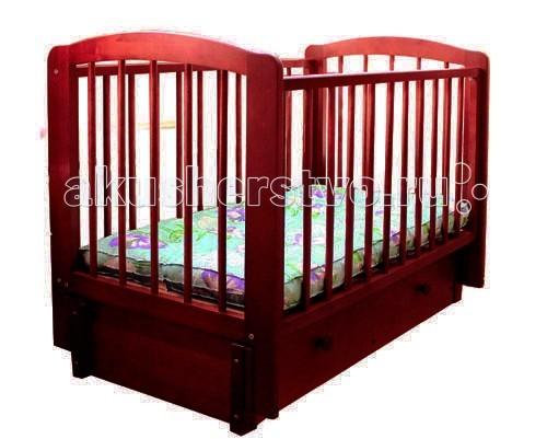 Детская кроватка Можгинский лесокомбинат Кристина (продольный маятник)