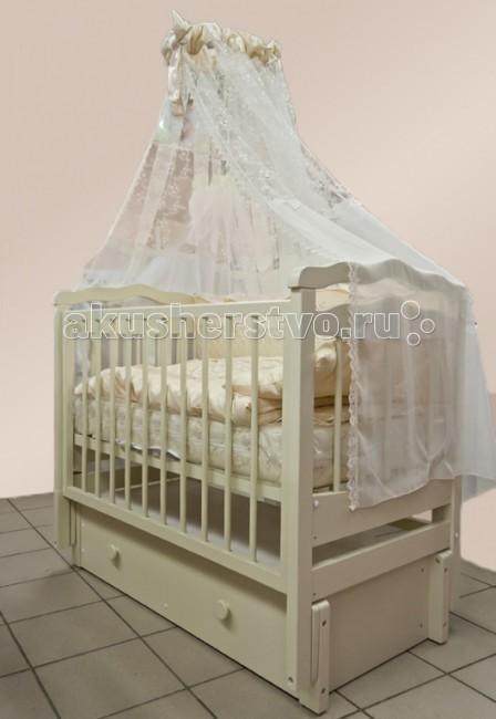Детская кроватка Можгинский лесокомбинат Купава (продольный маятник)
