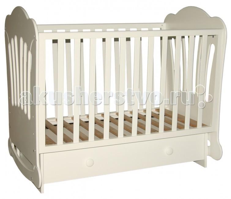 Детская кроватка Можгинский лесокомбинат Laluca Шарлотта (поперечный маятник)
