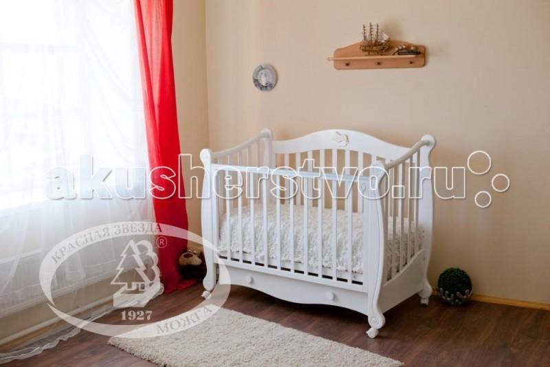 Детская кроватка Можга (Красная Звезда) Валерия С-749 накладка №2 Лошадка
