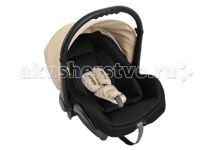 Автокресло Mr Sandman Carlo (эко-кожа)Carlo (эко-кожа)Mr Sandman Carlo — автокресло-переноска группы 0+ (для детей с рождения до 13 кг). Автокресло, гарантирующее безопасность ребенка во время поездки. Соответствует европейскому стандарту ECE R44/04, а качество и надежность подтверждены независимыми краш-тестами. Подходит для колясок фирмы Riko, Expander, Adamex, Bebe-mobile, Tutic.  Характеристики: Трехточечные ремни безопасности Защитный тент от солнца Полукруглое дно позволяет использовать как качалку Ручка-переноска регулируется в нескольких положениях Защита от боковых ударов Мягкие накладки на ремни Съемный чехол Мягкий вкладыш-матрасик с регулировкой подголовника Ткань отлично держит форму В комплекте: чехол на ножки, тент  Автокресло устанавливается только против хода движения автомобиля. Рекомендовано закреплять автокресло на заднем сидении плечевым ремнем автомобиля. На переднем сидение автокресло устанавливают только при выключенных подушках безопасности.  Тканые материалы: 50% эко-кожа, 50% полиэстер Вес автокресла: 4 кг Внутренние размеры: 69.5х42х29.5 см<br>
