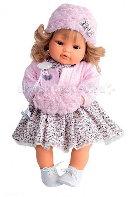 Munecas Antonio Juan  Кукла Белла плачущая 42 смКукла Белла плачущая 42 смКукла-младенец Белла выглядит совсем как ребенок. Куклы одеты в чудесные наряды, созданные испанским дизайнером.  Личико сделано с детальными прорисовками. Образы малышей Мунекас разработаны известными европейскими дизайнерами. Они натуралистичны, анатомически точны, с подвижными ручками и ножками, копируют настоящих младенцев.  Малыш умеет плакать, вставьте соску в ротик куклы и она сразу успокоится.   Кукла с виниловыми подвижными ручками, ножками и головой, и мягконабивным туловищем.   Кукла упакована в красивую подарочную коробку.  Куклы Antonio Juan Munecas существуют уже более 40 лет и пользуется заслуженной популярностью в Европе. Куклы производятся исключительно в Испании, из высококачественных материалов, безвредных для ребенка. Образы кукол разрабатываются ведущими Европейскими дизайнерами, они высокохудожественны, натуралистичны (девочки/мальчики), одеты в красивую современную одежду, сшитую из натуральных тканей. Упакованы в стильные фирменные коробки.  В наш век технического прогресса классические куклы Антонио Хуан, с милыми добрыми детскими чертами не перестают пользоваться популярностью, а способность разговаривать, смеяться и плакать делает их вполне современными и интересными даже для самых «продвинутых» деток.<br>