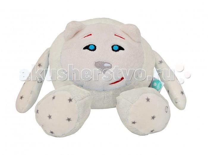 Мягкая игрушка myHummy Шумящее Чудо Mr Fluffy BallШумящее Чудо Mr Fluffy BallmyHummy Mr Fluffy Ball – это шумящее чудо с уникальным генератором белого шума (New Generation) помогает не только засыпать, но и снимает нервное напряжение, стрессовые нагрузки.  Шумящее чудо является другом не только новорожденного малыша, но и деток постарше, которые с любопытством начинают познавать мир. Ребенок с удовольствием играет с ручками и ушками myHummy, но главная задача игрушки – успокоить малыша и помочь заснуть. Засыпая, ваш малыш может прижаться к мягкой игрушке.  Игрушка издает 5 видов белого шума: урчание в утробе и биение сердца матери, шум морских волн, шум падающего дождя, имитация звука включенного фена и имитация звука включенного пылесоса, которые положительно воздействуют на нервную систему малыша.  Преимущества игрушки: через 60 минут звук приглушается и выключается самостоятельно возможность регулировать громкость эффект памяти, механизм запоминает последний уровень громкости и тип шума встроен датчик сна, который автоматически включит игрушку, если малыш начнет просыпаться, вертеться или плакать Non-Stop Система обеспечивает работу игрушки до 12 часов включается нажатием одной кнопки игрушки сшиты из безопасных материалов, которые подходят для детей с первого дня жизни вынув датчик из кармашка, игрушку можно постирать кармашек с шумящим механизмом находится внутри myHummy и безопасно застегивается на замок  Шумящее устройство включается не вынимая из кармашка. Материал, из которого изготовлен myHummy, полностью сертифицирован и безопасен для ребенка от первого дня жизни  myHummy Mr.Fluffy Ball имеет размер: 14 x 23 см. Состав: 80% полиестр, 20% хлопок.<br>