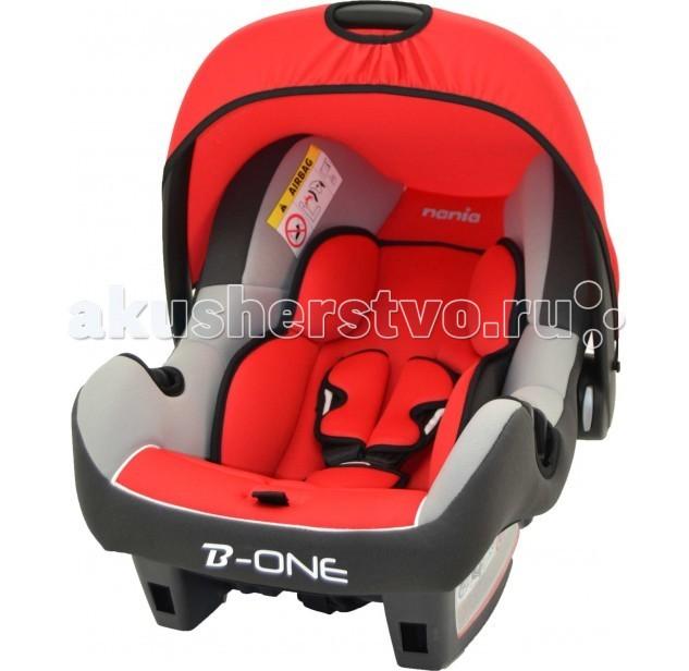 Автокресло Nania Beone SP LX (Luxe)Beone SP LX (Luxe)Современное автокресло Nania Beone SP Luxe эргономичной формы надежно защитит Вашего малыша. Предназначено для детей от рождения до 18 месяцев (0-13 кг). Корпус автокресла обладает высокими бортами, обеспечивающими дополнительную защиту головы малыша. Для самых маленьких предусмотрен мягкий вкладыш-матрасик. Обивку автокресла можно снять и постирать.   Ткань не линяет, не теряет цвет и форму. Солнцезащитный козырек не допускает попадания прямых солнечных лучей и пропускает воздух. Кресло устанавливается против хода движения автомобиля при помощи штатных ремней безопасности.   Ударопрочный корпус Beone SP Luxe изготовлен из полипропилена, способного гасить толчки и вибрацию. Облегченная система крепления позволяет без лишних усилий установить автокресло Nania Beone SP Luxe на сиденье любого автомобиля. Особенности Nania Beone Luxe:  Относится к группе 0+ (от 0 до 13 кг)  Прочный каркас анатомической формы из полипропилена  Способ установки: лицом против движения  Возможность установки на переднее сиденье при условии отключения подушек безопасности  Капюшон для защиты от солнца  Мягкие накладки  3-точечные ремни безопасности  Поддержка головы новорожденного  Гипоаллергенная обивка не линяет и не выгорает, хорошо пропускает воздух  Мягкий вкладыш для малышей  Защита от боковых ударов  Удобная ручка для переноски используется и как игровая дуга, и как дополнительный элемент безопасности ребенка Nania Beone SP    Технические характеристики:  Внешние размеры (Д х Ш х В): 70 х 47 х 40 см Внутренние размеры (Д х Ш): 32 х 30 см Высота спинки: 46 см Вес: 3.2 кг  Ткань: 100% полиэстер.<br>