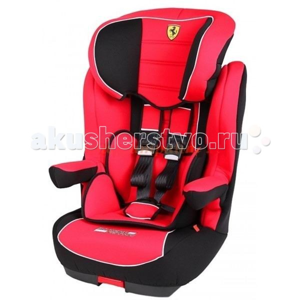 Автокресло Nania I-Max SP FerrariI-Max SP FerrariАвтокресло Nania I-Max SP Ferrari  обезопасит Ваших детей при поездках на автомобиле. Европейское качество, стильный дизайн, яркие цвета, все это предлагает своим покупателям фирма Ferrari.  Особенности: С высоким уровнем безопасности, достигнутым благодаря цельному литому корпусу и продуманной конструкции, съемные части можно стирать вручную Подголовник регулируемый по высоте Сиденье анатомической формы, со съемной спинкой, используемой до 6-7 лет Подлокотники Мягкие Ремни безопасности 5-точечные с мягкими накладками до 4-х лет Крепление : на заднем сидении, по ходу движения, при помощи штатных ремней безопасности<br>