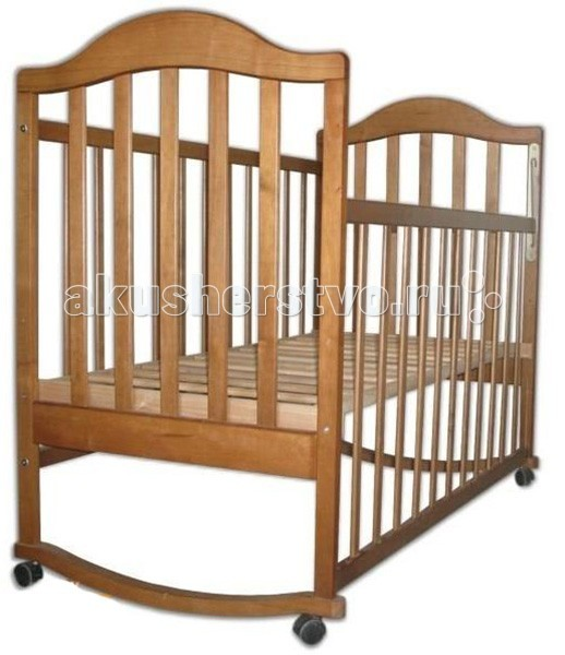 Детская кроватка Наполеон колесо-качалка от Акушерство