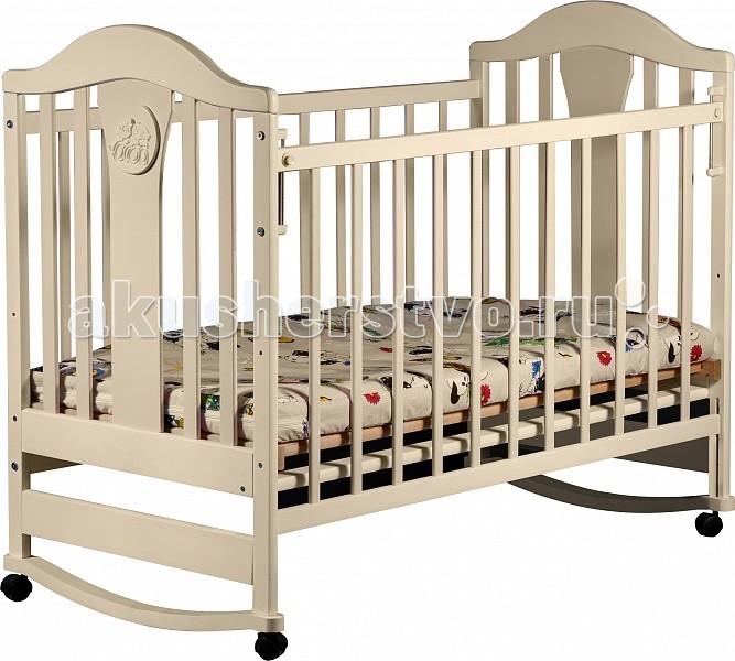 Детская кроватка Наполеон New (колесо-качалка)