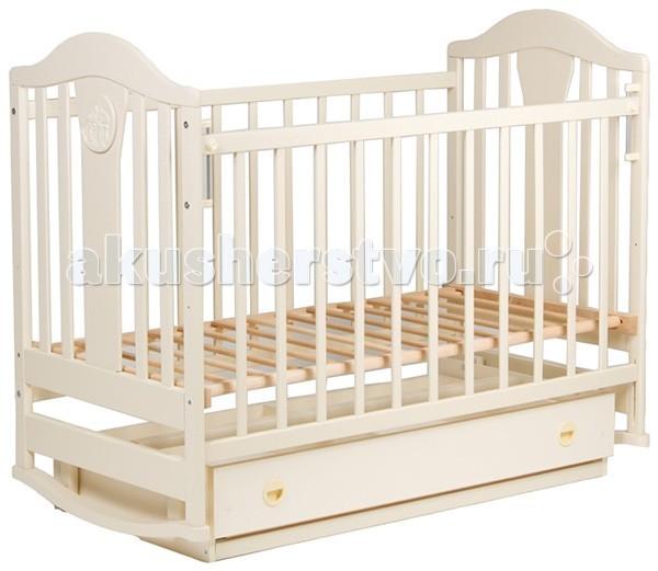 Детская кроватка Наполеон New (маятник поперечный)