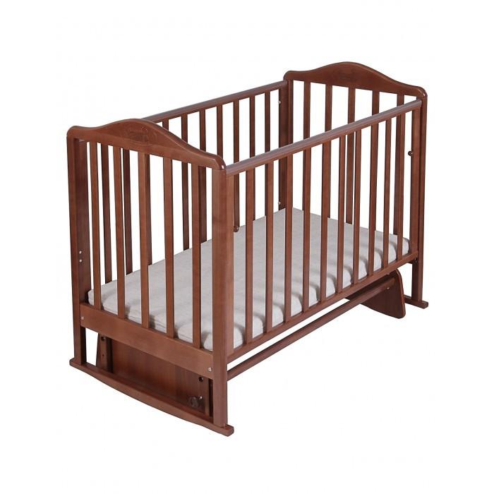Детская кроватка Наша Мама Джулия (маятник поперечный)