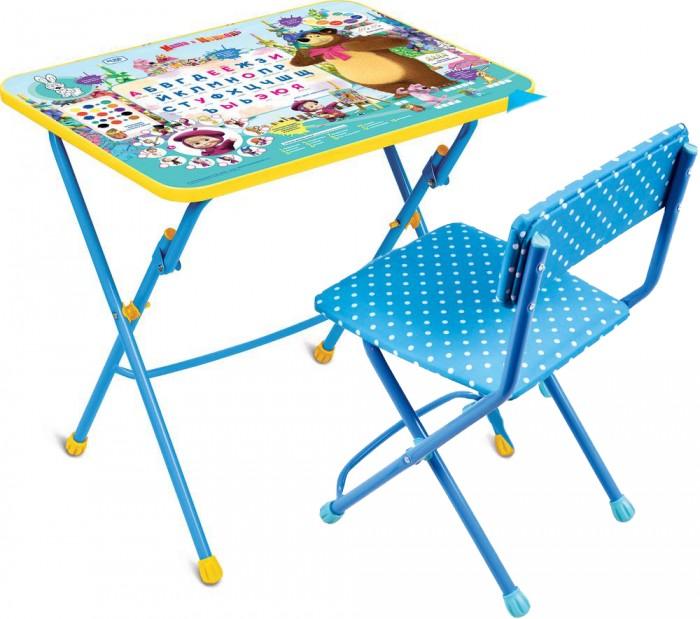 Ника Набор мебели Маша и Медведь (стол-парта+мягкий стул)