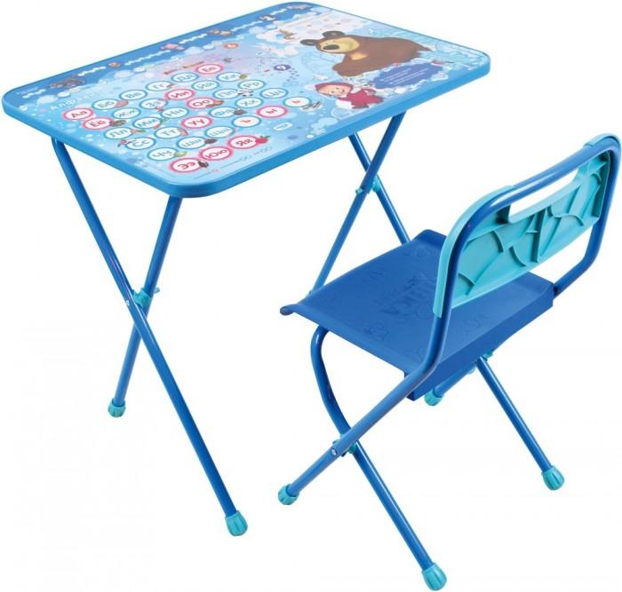 Ника Набор мебели (стол+стул)Набор мебели (стол+стул)Набор детской мебели Маша и Медведь (стол+стул) предназначен для детей возраста от 1.5 до 3 лет. Это безопасная, удобная мебель, которая компактно складывается и экономит пространство Вашей квартиры. Углы стола и стула мягко закруглены, основу мебели составляет металлический каркас, а форма и габариты соответствуют росту и весу ребенка.   С набором детской мебели Маша и Медведь Ваш ребенок будет с удовольствием получать новые знания, тренировать полученные навыки и развивать свои творческие способности! Главное в обучении ребенка – это правильный подход в форме игры, поэтому каждый стол – тематический.  В набор входят: стол 60х45х50 см стул мягкий: высота до сиденья 30 см, высота со спинкой 54 см, сиденье 25х28 см<br>