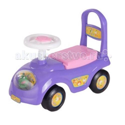 Каталка Ningbo Prince Baby CarBaby CarКаталка Ningbo Prince Baby Car станет любимой игрушкой Вашего малыша, ее размеры позволяют использовать ее, как на улице, так и в доме.  Характеристики: Каталка имеет устойчивую конструкцию Легкое движение вперед и назад Вместительный багажник под сиденьем На руле кнопка звукового сигнала-пищалки Колеса с поворотом на 90 градусов  Каталка способствует развитию опорно двигательного аппарата ребенка, укреплению суставов и координации в пространстве.   Размер: 62х28х31 см  Вес: 1.6 кг  Максимальный вес: до 30 кг<br>
