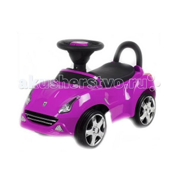Каталка Ningbo Prince Ferr-ariFerr-ariКаталка Ningbo Prince Ferr-ari станет любимой игрушкой Вашего малыша, ее размеры позволяют использовать ее, как на улице, так и в доме.  Характеристики: Каталка имеет устойчивую конструкцию Легкое движение вперед и назад Вместительный багажник под сиденьем На руле кнопка звукового сигнала-пищалки Колеса с поворотом на 90 градусов  Каталка способствует развитию опорно двигательного аппарата ребенка, укреплению суставов и координации в пространстве.   Размер: 62х28х31 см  Вес: 2.60 кг  Максимальный вес: до 30 кг<br>