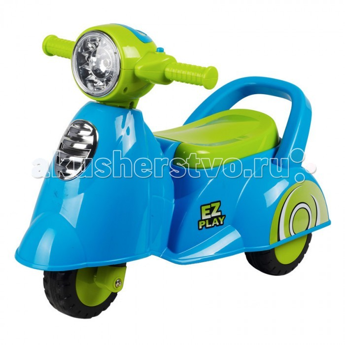 Каталка Ningbo Prince VespaVespaКаталка Ningbo Prince Vespa станет любимой игрушкой Вашего малыша, ее размеры позволяют использовать ее, как на улице, так и в доме.  Характеристики: Каталка имеет устойчивую конструкцию Легкое движение вперед и назад Вместительный багажник под сиденьем На руле кнопка звукового сигнала-пищалки Колеса с поворотом на 90 градусов  Каталка способствует развитию опорно двигательного аппарата ребенка, укреплению суставов и координации в пространстве.   Размер: 66х32.5х47 см  Вес: 2.7 кг  Максимальный вес: до 30 кг<br>