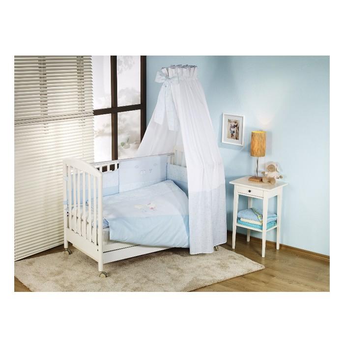 Комплект в кроватку Nino El Amor (6BB предметов)El Amor (6BB предметов)Постельныйкомплект в кроваткуNino Canguru El Amor BB разработан специально для новорожденных. Особое внимание уделяется качеству и мягкости хлопчатобумажной ткани, которая характеризуется практичностью в использовании, простотой стирки и глаженья.  Материал: 100% хлопок  Наполнитель: 100% полиэстер В комплекте 6 предметов:  пододеяльник: 135 х 100 см  наволочка: 60 х 40 см  одеяло: 135 х 100 см  подушка: 60 х 40 см  борт: 360 см (на всю кроватку)  простынь на резинке<br>
