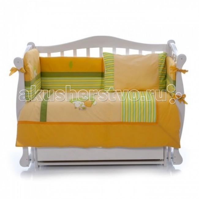 Комплект для кроватки Nino Erizo (6B предметов)