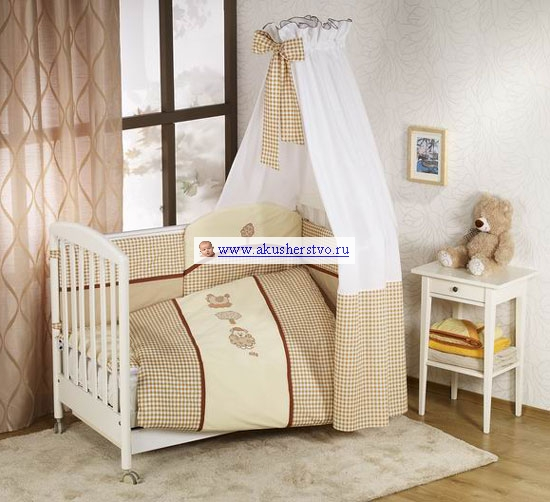 Комплект для кроватки Nino Morada (6B предметов)