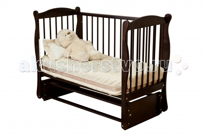 Детская кроватка Noony Wood Simple (поперечный маятник)