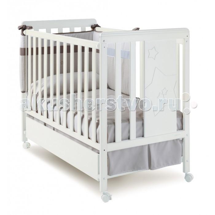 Детская кроватка Micuna Nova 120x60Nova 120x60Чудесная кроватка Micuna Nova 120x60 имеет открытый и уникальный дизайн. Благодаря оригинальности конструкции и высокому уровню удобства кроватки вашему ребёнку просто не захочется выбираться из нее.  Дно кроватки регулируется в 2-х положениях, а если убрать один из бортиков, то кроватка превратиться в удобный диван.   Для передвижения кроватки предусмотрены специальные колесики, которые имеют тормозную систему предназначенную для избежания случайного движения. Решётка обеспечена замками двойной безопасности для предотвращения случайного складывания.   Конструкция детской кроватки Micuna Nova 120x60 предусматривает скругленные углы, которые предотвратят непроизвольное травмирование малыша или родителей, а для изготовления самого изделия используются только натуральные нетоксичные материалы.   Особенности: - колёсная база с тормозной системой; - материал: бук; - размеры спального места: 120х60. - размеры матраса: 117 х 57 х 10 см<br>