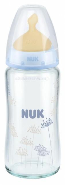 Бутылочка Nuk First Choice стекло с антиколиковой соской из латекса 240 мл от Акушерство