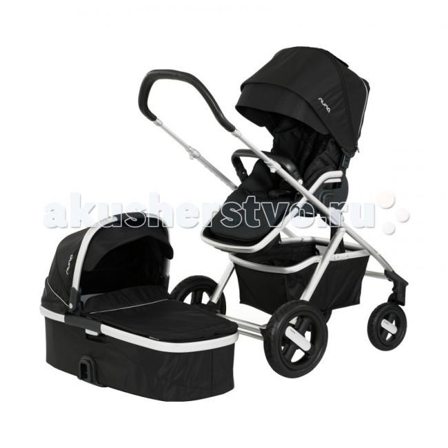 Коляска Nuna Ivvi 2 в 1Ivvi 2 в 1Детская коляска Nuna Ivvi рассчитана на малышей от рождения до 3-4 лет или до веса в 18 килограмм. Коляска Ivvi новинка от известной европейской компании Nuna. На раму коляски легко устанавливается люлька для новорожденного и автокресло группы 0+. Фирменная ткань Oeko-Tex гарантирует отличный теплоотвод и абсолютно безопасна для малыша.  Люлька: предназначена для детей в возрасте от 0 до 6 месяцев люлька имеет завидные внутренние размеры, что очень важно для нашего климата прочный алюминиевый каркас надежно защищает малыша от механических контактов фирменная система фиксации почти не имеет люфтов и проста в эксплуатации люлька подходит только к коляске Nuna Ivvi удобная ручка для переноски с регулировкой угла капюшон имеет дополнительный козырек и вентиляционное окошко в капюшоне встроена дополнительная защита от солнца и ветра в передней части есть дополнительный карман на молнии для разной мелочевки  Прогулочное сидение: для детей от 0 до 3-4 лет, или до 18 кг.  2 положения, лицом к маме или наоборот. 5 положений наклона спинки вплоть до горизонтального (180 град) регулируемая подножка 5-точечный ремень безопасности с защитой от закручивания съемный, регулируемый бампер  Шасси: настраиваемая по высоте ручка, коляску можно толкать одной рукой все 4 колеса на подшипниках, что обеспечивает долгий срок службы и плавный ход под любой нагрузкой колеса можно снять для транспортировки или мойки после прогулки  передние колеса можно заблокировать для движения только по прямой  задние колеса пневматические с защитой от прокола, не требуют подкачки рама складывается книжкой возможна установка автокресла или люльки корзина для перевозки мелких предметов  Размеры: в разложенном виде (гхшхв) 108.5х65х103.5 см в сложенном виде (гхшхв) 77х47.5х65 см  Вес 16.5 кг<br>