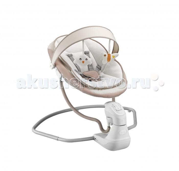 Электронные качели Nuovita  AttentoAttentoЭлектрокачели Nuovita Attento  Комфортное кресло эргономической формы создано с учетом анатомических особенностей новорожденного, в частности, его неокрепшей спинки. Малыш погрузится в него, как в люльку, и будет чувствовать себя не хуже, чем в маминых объятиях.   Характеристики: возрастная группа: от 0 месяцев до 6 месяцев (до 9 кг.) 5 скоростей укачивания таймер на 10,20 и 30 минут 8 мелодий на выбор функция вбироукачивания регулятор громкости пятиточечные ремни безопасности мягкий вкладыш большой выбор ярких игрушек для подвешивания работает от батареек и от сети вес 4.5 кг габаритные размеры в разложенном виде, мм: 710 x 760 x 790<br>