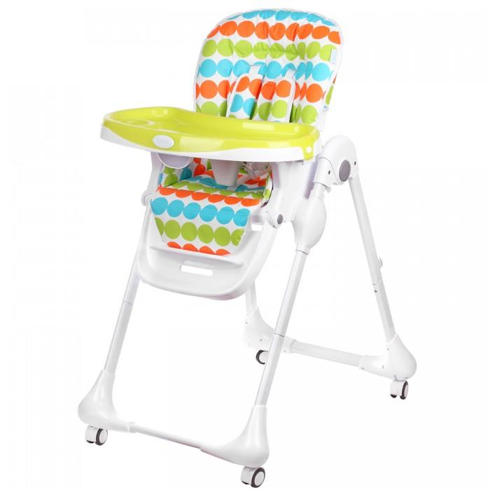 Стульчик для кормления Nuovita  BeataBeataДетский стульчик для кормления Nuovita Beata – это стильный и красивый стульчик для кормления деток от 6 месяцев до 3 лет, который понравится родителям не только своим внешним видом, но и функционалом. Ребенку будет очень комфортно в нем, так как спинка и подножка стульчика могут регулироваться в 3 положениях по наклону и высоте соответственно, а также на выбор доступно 7 возможных вариантов высоты сидения.  Для удобства малыша здесь имеется мягкий вкладыш и съемная столешница, а надежное и устойчивое положение стула обеспечивает прочный металлический каркас с поворотными колесиками, передние из которых оснащены тормозами.  Характеристики:  возрастная группа: от 6 месяцев до 3 лет; 3 уровня положения наклона спинки (полусидя, полулежа, сидя); пятиточечные ремни безопасности; съемный поднос, регулируемый в 3 положениях; регулируемая подножка; количество положений подножки: 3 мягкий вкладыш; 4 колеса; 2 стопора; съемный, легко чистящийся чехол; 6 уровней высоты сиденья; самостоятельно стоит в сложенном состоянии;  Размеры в разложенном виде (ДхШхВ), см: 60 х 94 х 103 Размеры в сложенном виде (ДхШхВ), см: 58 х 32 х 96 Вес товара, кг 9.3<br>