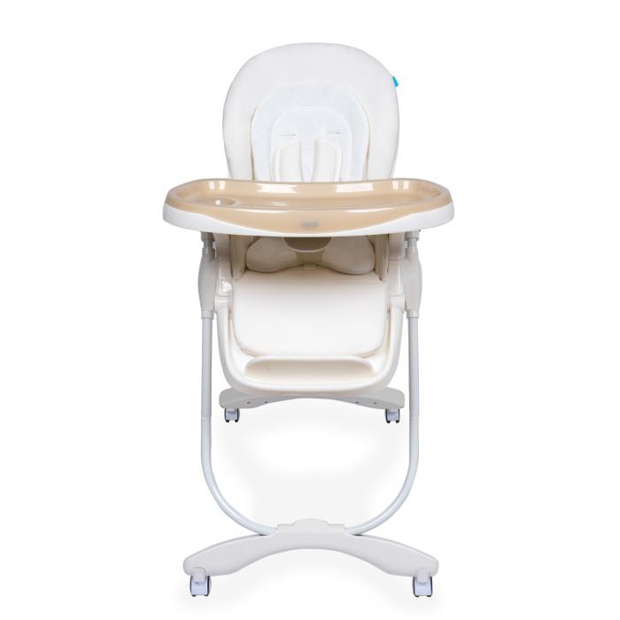Стульчик для кормления Nuovita  FantasiaFantasiaДетский стульчик Nuovita Fantasia для кормления деток от 6 месяцев до 3 лет, который понравится родителям не только своим внешним видом, но и функционалом. Ребенку будет очень комфортно в нем, так как спинка и подножка стульчика могут регулироваться в 3 положениях по наклону и высоте соответственно, а также на выбор доступно 7 возможных вариантов высоты сидения.  Для удобства малыша здесь имеется мягкий вкладыш и съемная столешница, а надежное и устойчивое положение стула обеспечивает прочный металлический каркас с поворотными колесиками, передние из которых оснащены тормозами.  Характеристики:  возрастная группа: от 6 месяцев до 3 лет; 3 уровня положения наклона спинки (полусидя, полулежа, сидя); пятиточечные ремни безопасности; съемный поднос, регулируемый в 3 положениях; регулируемая подножка; количество положений подножки: 3; мягкий вкладыш; 4 колеса; 2 фиксатора; съемный, легко чистящийся чехол; 7 уровней высоты сиденья; самостоятельно стоит в сложенном состоянии;  Габаритные размеры в разложенном виде (ДхШхВ), см: 60 х 85 х 109; Габаритные размеры в сложенном виде (ДхШхВ), см: 58 х 32 х 99; Вес товара, кг 10,2<br>