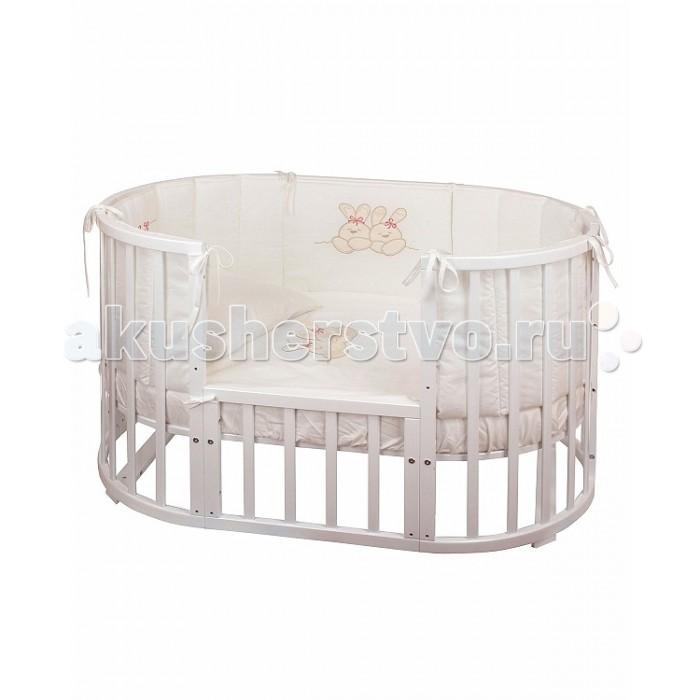 Бампер для кроватки Nuovita  Leprotti 125х75 см