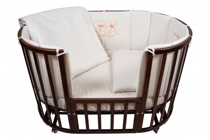 Комплект в кроватку Nuovita Leprotti (6 предметов) 125x75 см
