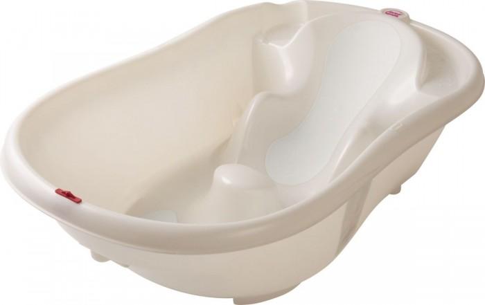 Ok Baby Ванночка Onda EvolutionВанночка Onda EvolutionВанночка для купания ребенка, которая удерживает ребенка видеальном для купания положение, непозволяет ему соскользнут под воду. Предназначена для детей от0до1 года. При использовании специального крепления (перекладин) возможна установка наобычную ванну для взрослых. СOnda купание ребенка станет безопасным, приятным, легким, отпадет необходимость веще одной паре рук.  В комплект входит:   электронный термометр  уровень рекомендуемой воды  прорезиненная вставка  размер: 54x28x94 см (по выступающим точкам)   Внимание! Антискользящая вставка в расцветке Белый может отличатся от представленной на фото!<br>