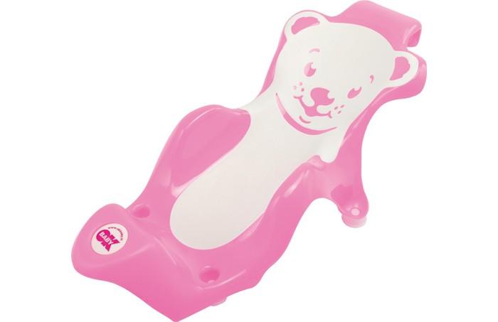 Ok Baby Горка в ванну BuddyГорка в ванну BuddyСпециально создана для поддерживания детей до8-ми месяцев вовремя купания. Buddy делает купание ребенка легким иприятным. Рекомендуется использовать вкомбинации сванночкой Laguna, нотакже может быть установлено ивобычную ванну для взрослых (уточните параметры вашей ванны перед покупкой). Цвет: белый, синий<br>