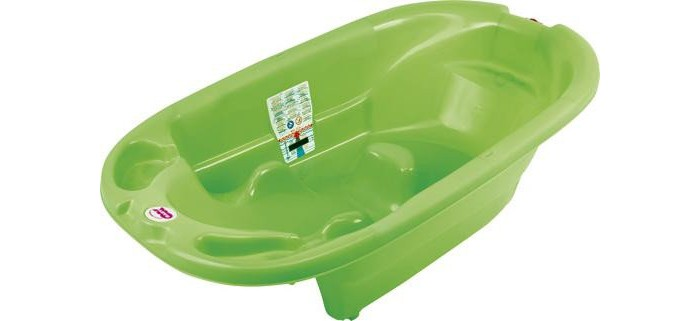 Ok Baby Ванночка OndaВанночка OndaВанночка для купания ребенка, которая удерживает ребенка видеальном для купания положение, непозволяет ему соскользнут под воду. Предназначена для детей от0до1 года. При использовании специального крепления (перекладин) возможна установка наобычную ванну для взрослых. СOnda купание ребенка станет безопасным, приятным, легким, отпадет необходимость веще одной паре рук.  Цвет: белый, синий, желтый, зеленый.<br>