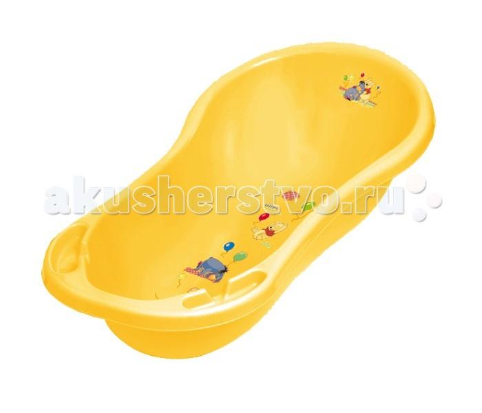 OKT Ванна овальная Winnie the Pooh & Friends Disney со сливом 100 см
