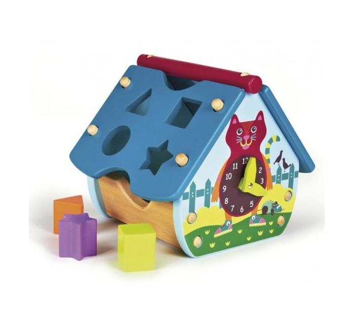 Деревянная игрушка Oops Домик-сортер