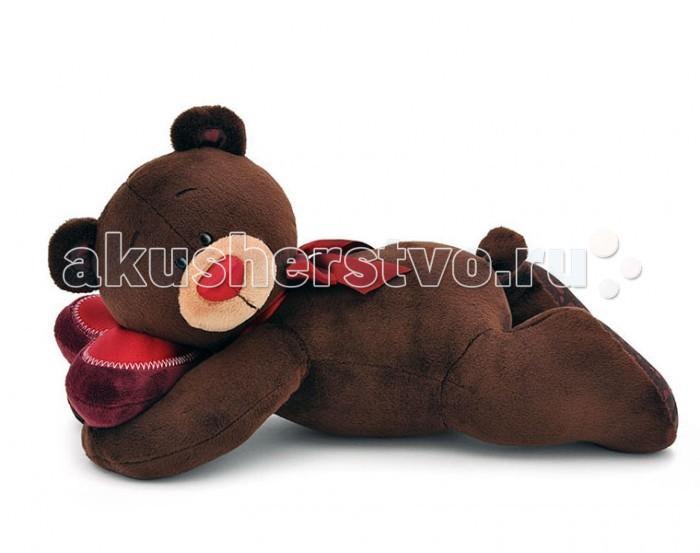 Мягкая игрушка Orange Choco Медвежонок-мальчик лежебока