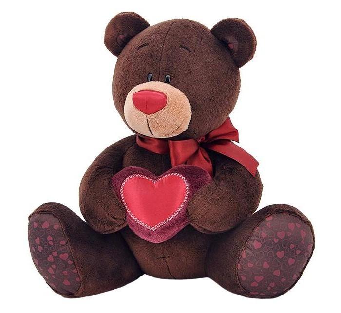 Мягкая игрушка Orange Choco Медвежонок-мальчик с сердцемChoco Медвежонок-мальчик с сердцемМягкая игрушка Choco Медвежонок-мальчик с сердцем привлечет внимание любого малыша.   Забавная мягкая игрушка - прекрасный выбор к любому празднику!  Мягкая игрушка наполнит мир вашего малыша приятными ощущениями и положительными эмоциями. Способствует развитию воображения и тактильной чувствительности у детей.  Качество подтверждено сертификатами соответствия.  Изготовлено из гипоаллергенных материалов.  Состав:  Мех искусственный, трикотажный.  Полое полиэфирное волокно.  Полиэтиленовые гранулы.  Фурнитура из пластмассы.<br>