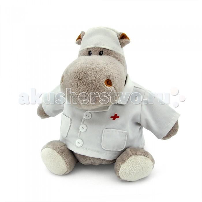 Мягкая игрушка Orange Exclusive Бегемот Любимый доктор