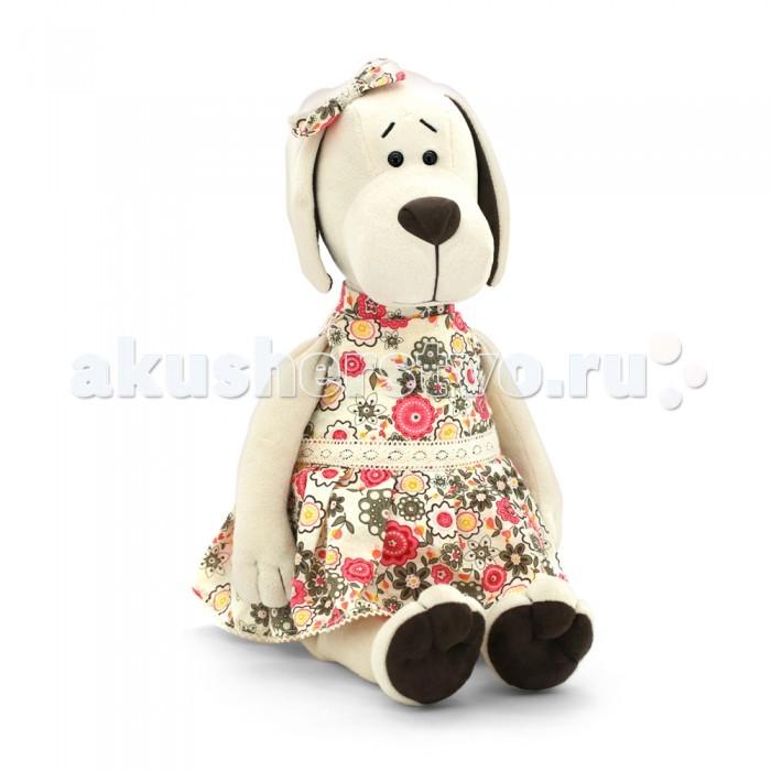 Мягкая игрушка Orange Собачка Лапуська в Летнем ПлатьеСобачка Лапуська в Летнем ПлатьеOrange Собачка Лапуська в Летнем Платье  Хотите порадовать малыша занимательной и оригинальной игрушкой? Вам важно, чтобы она была яркая, увлекательная, а самое главное &#8213; безопасная и сделанная из высококачественных материалов? В таком случае Мягкая игрушка Собачка Лапуська в летнем платье, 20см &#8213; это то, что нужно! Ребёнок надолго запомнит такой подарок и с удовольствием будет проводить время с новой игрушкой.<br>