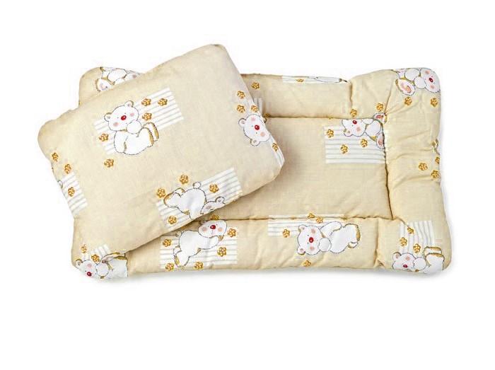 Осьминожка Комплект в коляску (матрас+подушка)