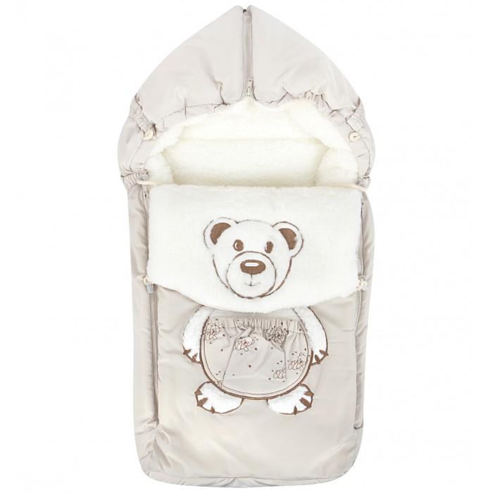 Зимний конверт Осьминожка Мишка в штанишкахМишка в штанишкахКонверт зимний меховой для прогулки.   Конверт для деток на прогулку в зимний период. Имеет две боковые молнии для удобства расположения малыша. Вышивка Мишка в штанишках.   Снабжен специальной подушечкой для удобства малышу.   Защитит вашего малыша в зимний период от холода.   Отличного подойдет для Вашего малыша как для использования в коляске, так и в дальнейшем.  Состав: Верх: ткань курточная (100% п/э), подклад: мех на трикотажной основе (70% шерсть, 30% п/э), наполнитель: холофайбер (100% п/э).  Уход: ручная стирка 30 градусов.<br>