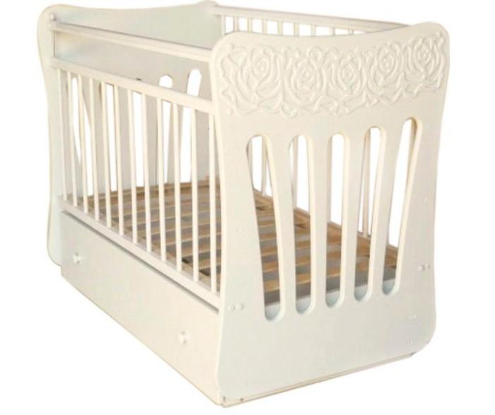 Детская кроватка Островок уюта Розали (маятник поперечный)