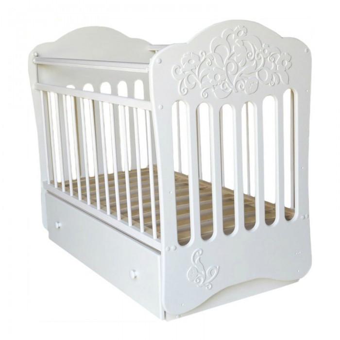 Детская кроватка Островок уюта Виола (маятник поперечный)